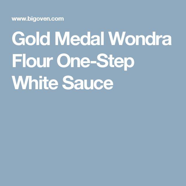 Gold Medal Wondra Flour One-Step White Sauce