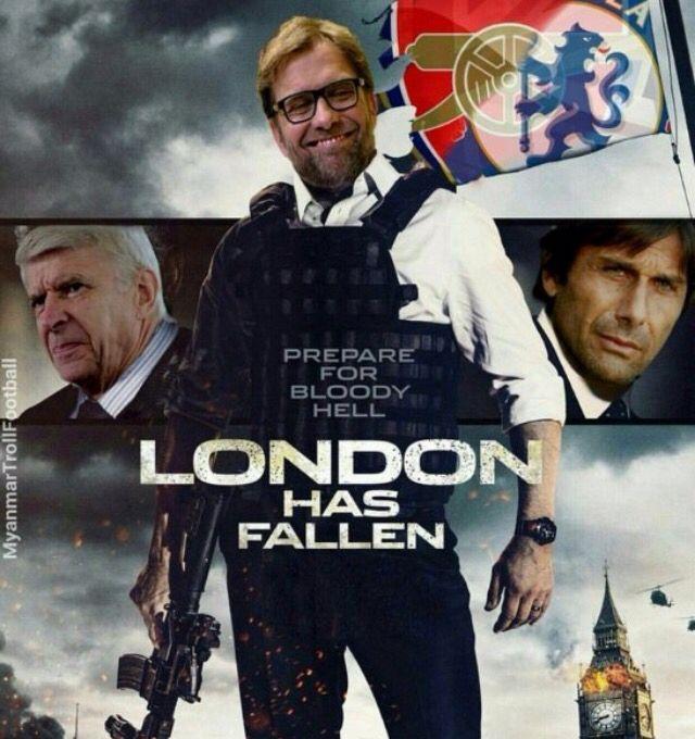 Klopp Red's take London