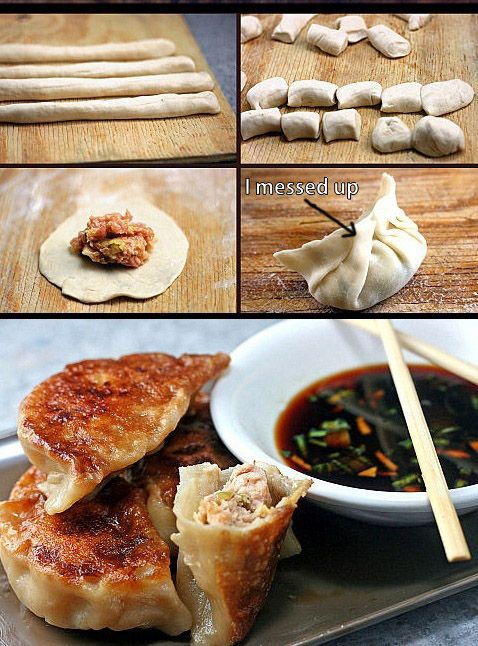 How to Make Asian Dumplings and Potstickers from Scratch. So Fun, Easy and Delicious