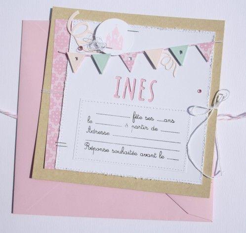 """Necureuil Tampons et matrices de coupe (dies) 4enSCRAP """"C'est mon anniversaire"""""""