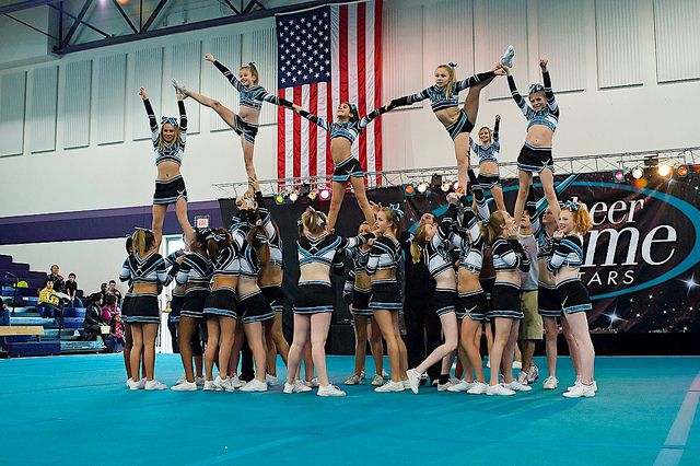 outrageous cheer stunts | Pin Extreme Cheerleading Stunts Picsdigger on Pinterest
