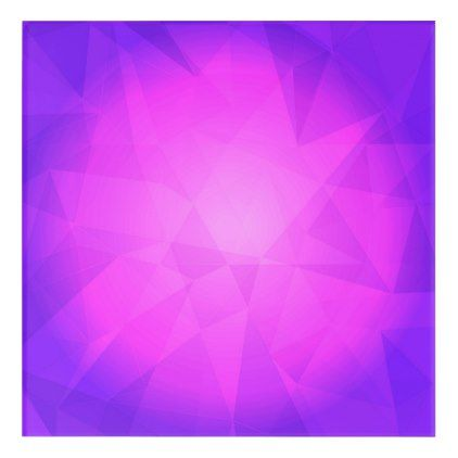 Abstract glow light purple triangle background acrylic wall art - light gifts template style unique special diy