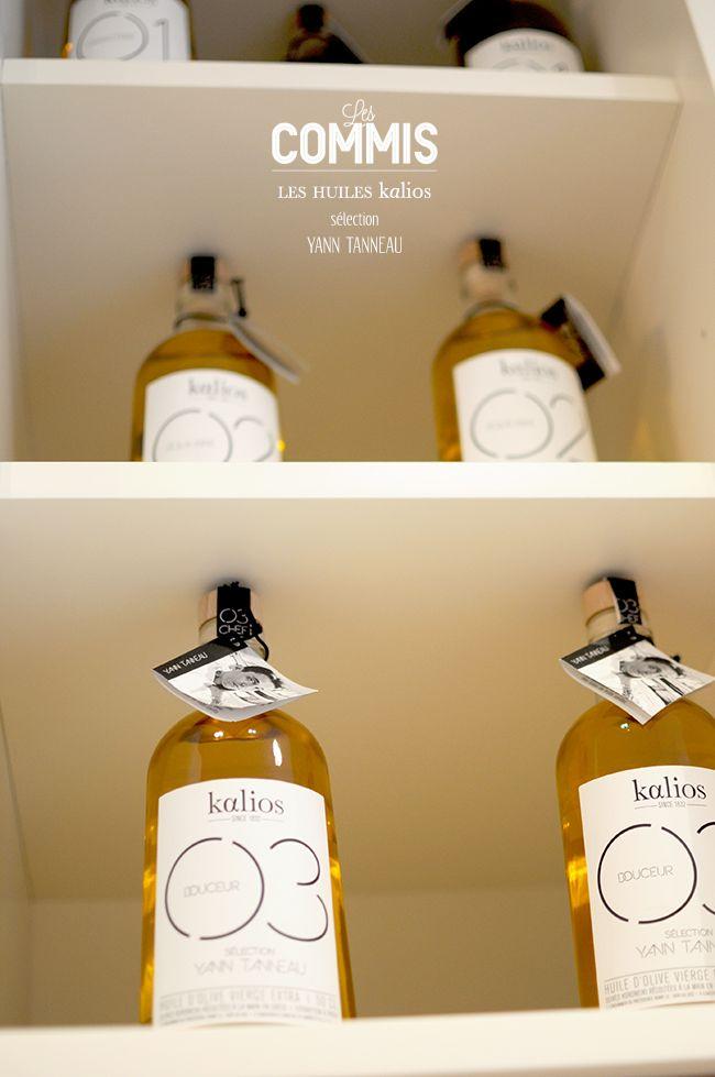 Huiles d'olive Kalios - LES COMMIS Paris 9