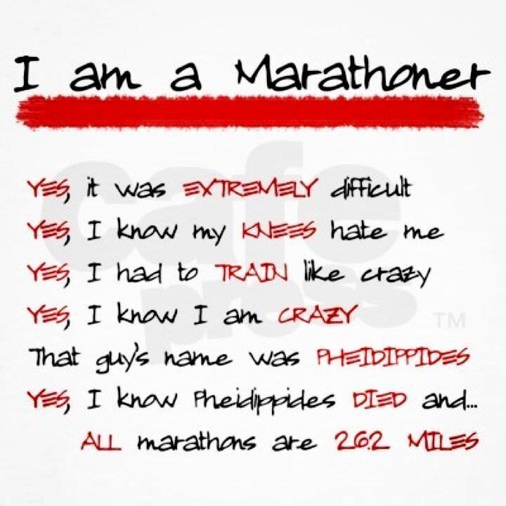 I am OFFICIALLY a marathoner!! 5.4.14! Pittsburgh Marathon! 5:30:12! Ouch!
