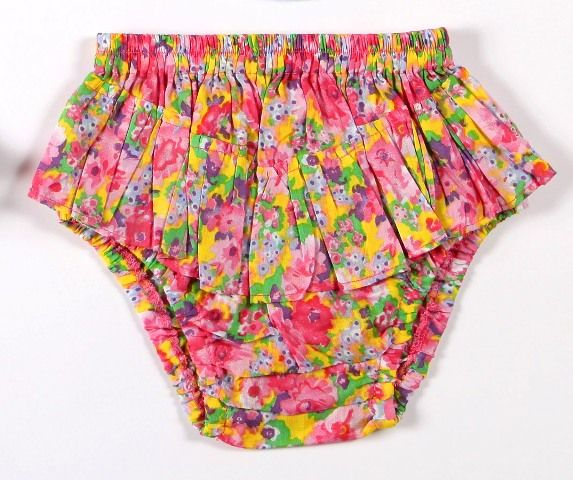Coco & Ginger Pipi Bloomers Mexican Flower Size 6 - 12mth  12 - 18mth  18 - 24mth