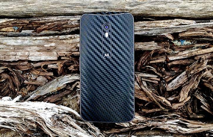Folii Carbon 3M Black  Moto X Pure Edition