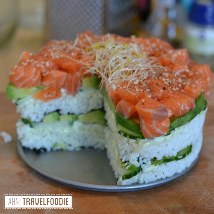 ... Sushi Cake on Pinterest | Sushi cupcakes, Sushi one and Oishi sushi
