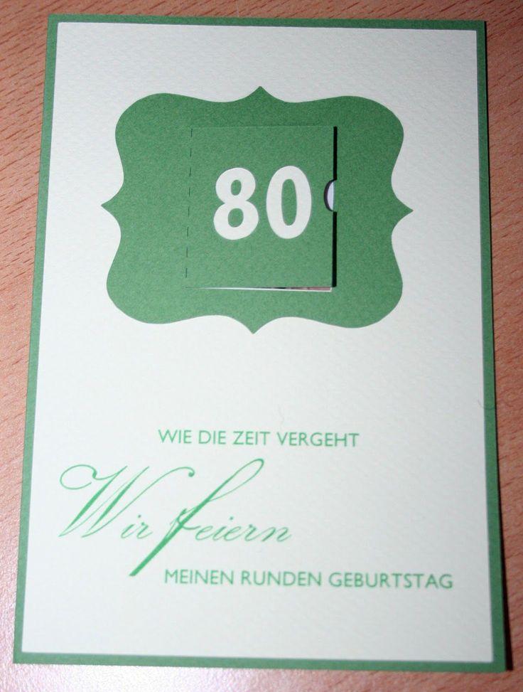 Einladung Zum 80. Geburtstag Vorlagen Kostenlos