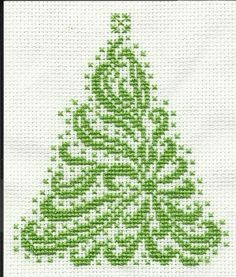 free christmas tree cross stitch patterns - Google Search