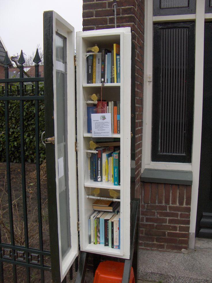 Boeken lenen en ruilen op het Getfert in Enschede