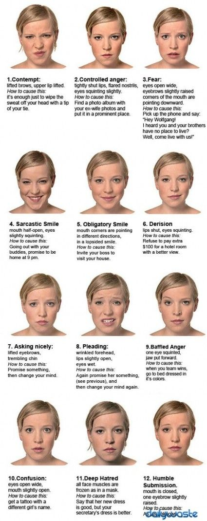 Can you read the micro expressions? http://www.theheadshotguy.co.uk/emotions-and-the-micro-expressions/
