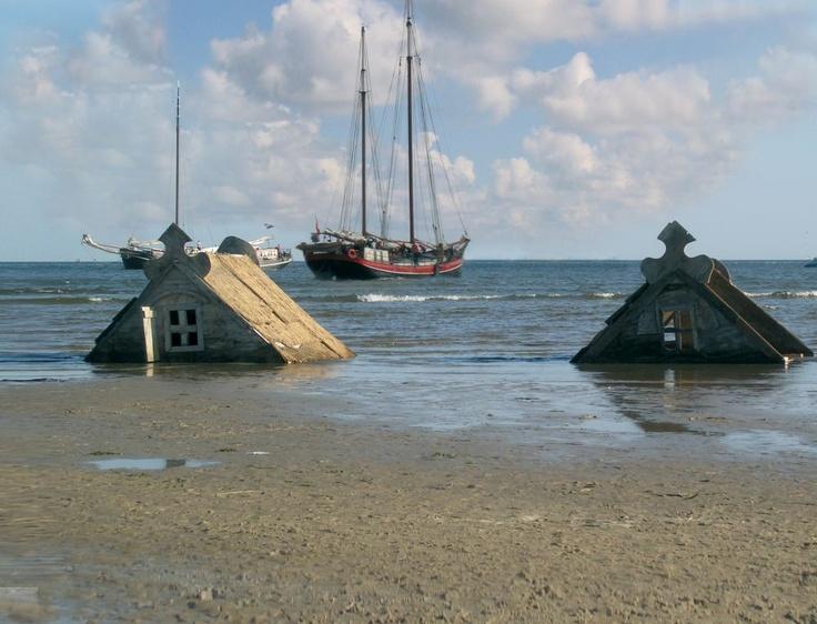 Een van vele unieke beelden die vanaf een schip te zien zijn.