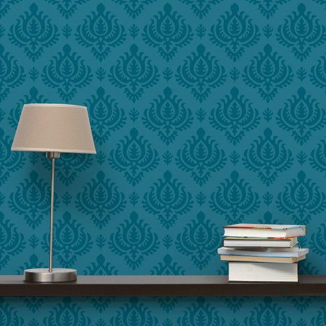 die besten 25 paisley tapete ideen auf pinterest. Black Bedroom Furniture Sets. Home Design Ideas