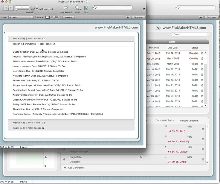"""FileMaker and HTML5 - part 4 """"The Process"""""""
