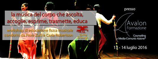 Pescara Workshop di educazione fisica musicale