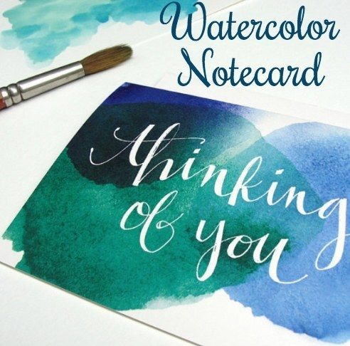 Stunning watercolor notecards. | 17 DIY Stationery Projects That Will Make You Want To Write A Letter
