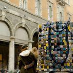 Piazza delle Mercanzie: Borsa realizzata intrecciando sacchetti di caffè #Upcycling #bag #artigianato #madeinitaly #accessori #riciclo