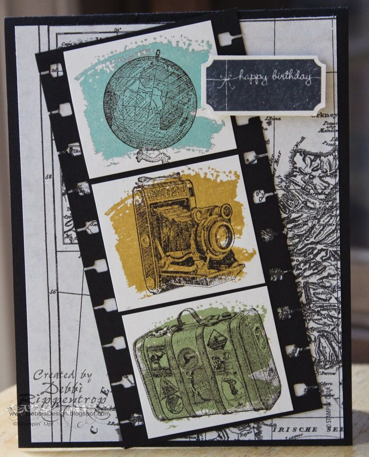 Traveller, Work of Art, That's the Ticket, Typeset dsp, Ticket Duo Punch,  more. All supplies from Stampin' Up!