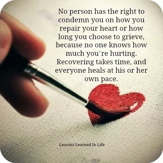 No person has the right...