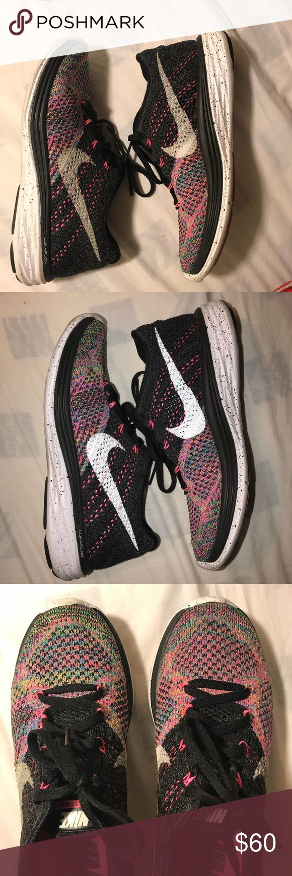 Nike Flyknit Lunar 3 Women's Nike Lunar 3. Still in perfect condition. Not sold in stores, found online but for an expensive price! Women's 6.5 Nike Shoes Athletic Shoes