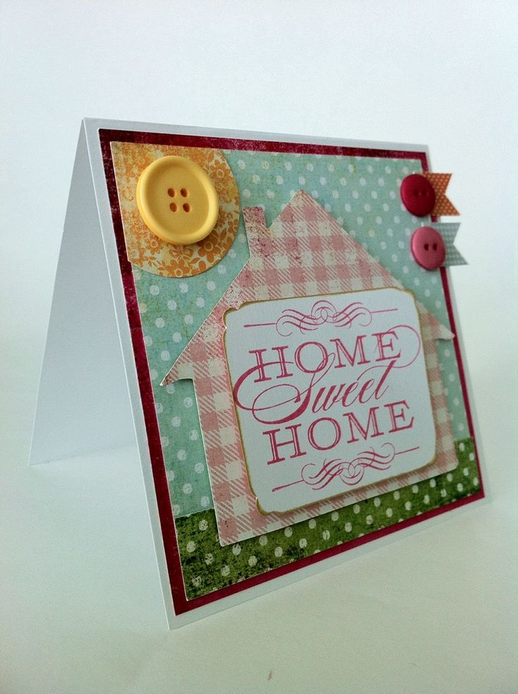 17 Best Images About Cards - New Home On Pinterest