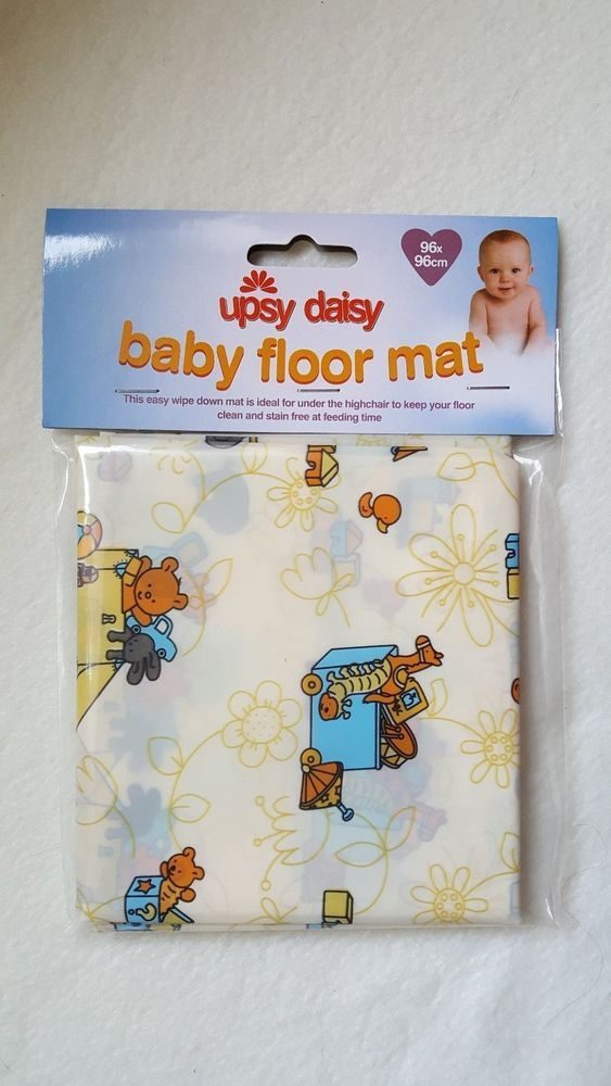 Upsy Daisy Baby Mat (Bears)  96x96cm - For Eating, Messy Play, Home or Travel.  | eBay