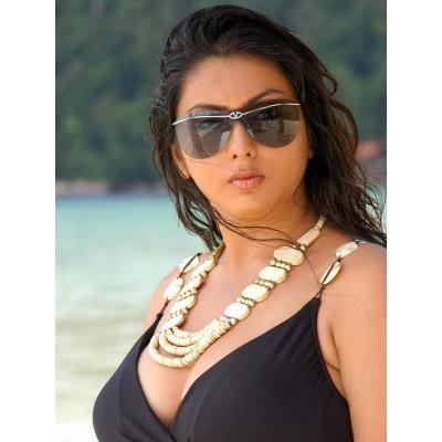 Namitha Kapoor in hot Short Black Dress