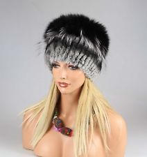 Mujer CHINCHILLA Gorra de piel ZORROS plateado invierno beanie: 146,95 EUREnd Date: 06-oct. 03:45Buy It Now for only: US 146,95 EURBuy it…
