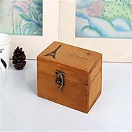 Vintage+Wooden+Tower+Box+Wood+Crafts+Home+Furnishing+Storage+Box++with+Lock+–+USD+$+14.27
