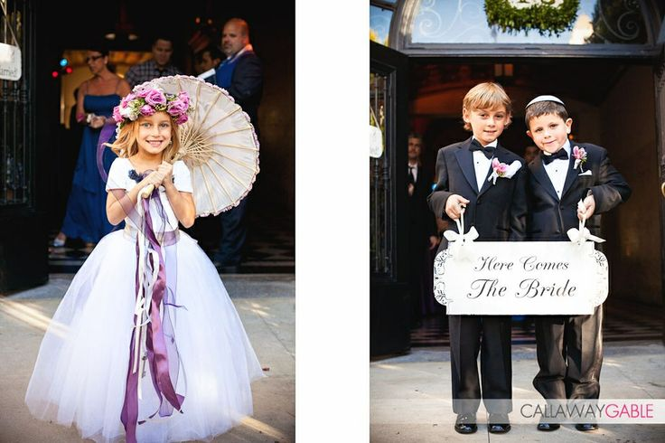 Shawnayamamoto.com, flower girl outfit, flower girl style inspiration, cute flower girl with umbrella, lavender and white, boys in tuxedos, jewish wedding, boys wedding outfit ideas, children at wedding, kids wedding outfit