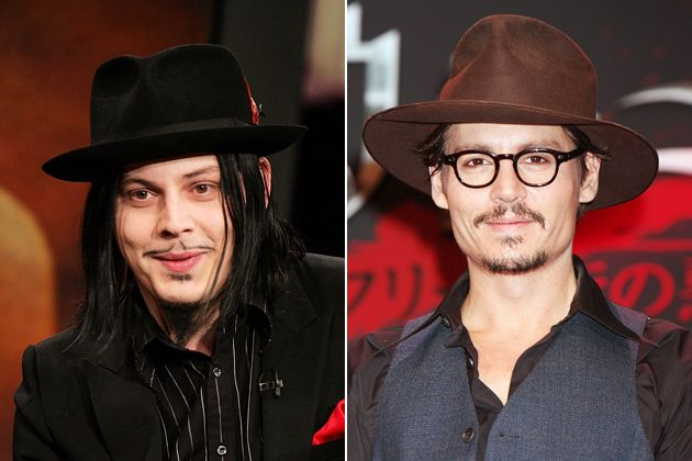 johnny depp and jack white | Casting Call: Who Should Play the White Stripes In a Movie?