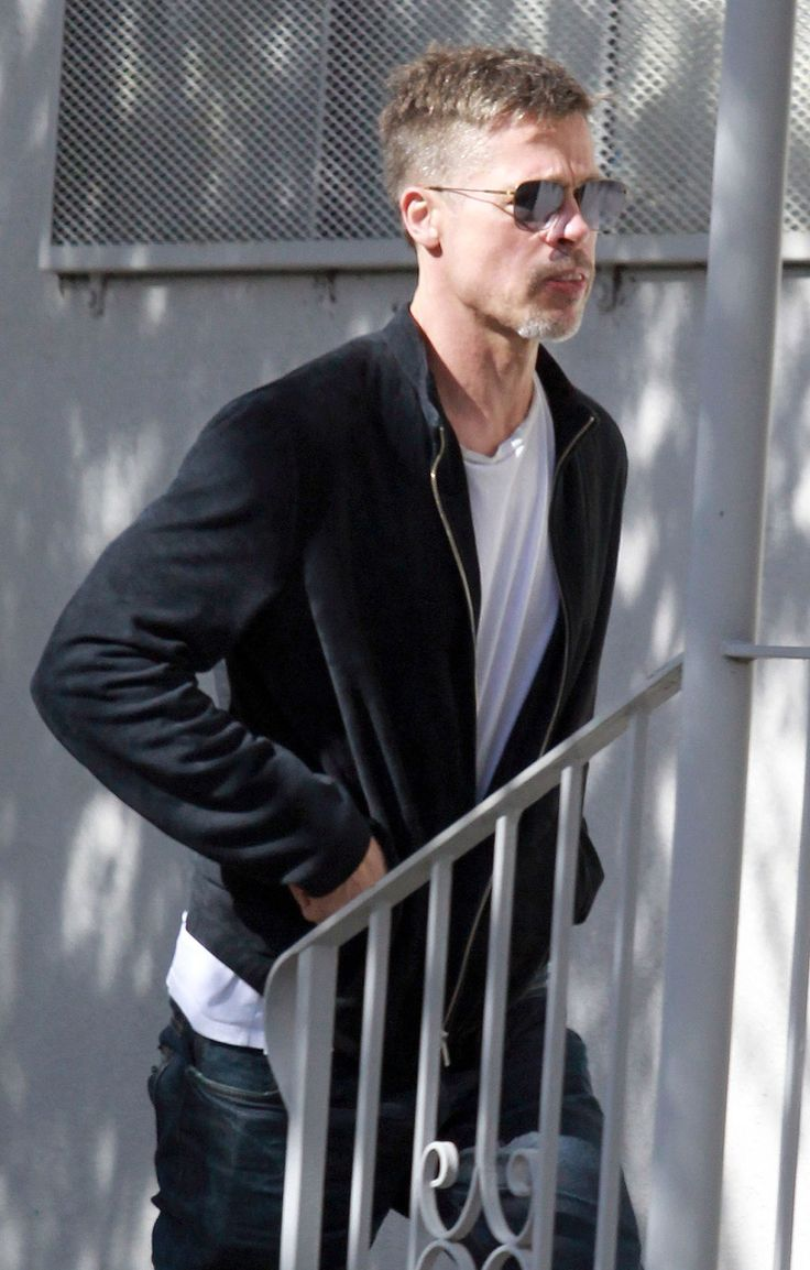 Brad Pitt Steps Out in L.A. Looking Thinner: 'He's Healthy and Much Happier,' Says Source