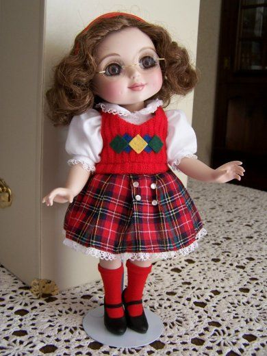 Nancy Peterson's Personal Collection. Marie Osmond Doll, Fall-Adora The Season's Belle Trunk Doll, sculpted by Marie Osmond