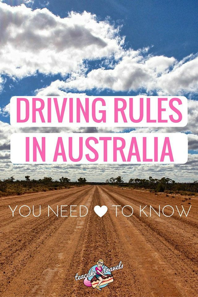 Heading on a road trip in Australia? Awesome! Just make sure you know the driving rules in Australia first so your journey is problem free!