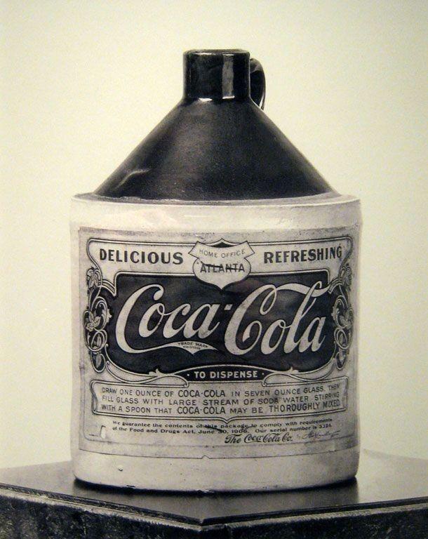 Primeira garrafa de Coca-Cola