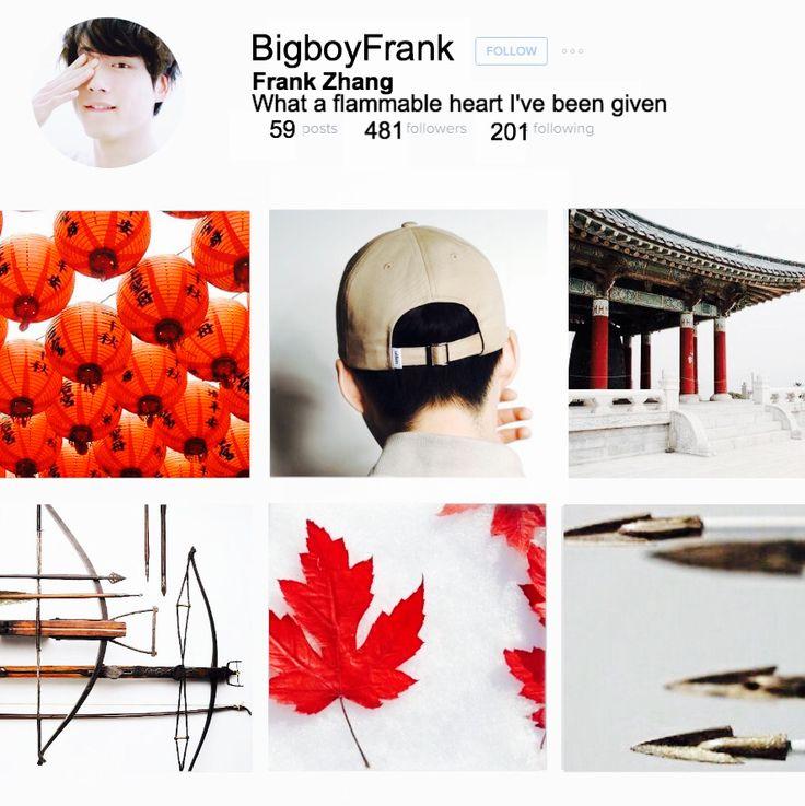 Frank Zhang Instagram