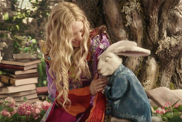 Watch Two New Alice Through the Looking Glass Clips More