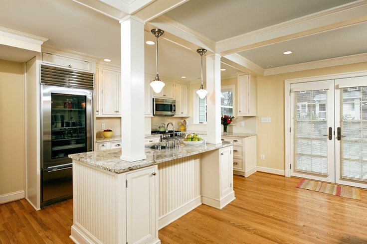 Columns For Load Bearing Wall. Alexandria, Virginia Kitchen | Virginia  Kitchens | Kitchen | Pinterest | Warm, Virginia And Colors Part 89