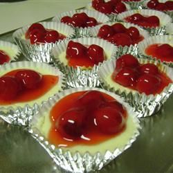 Mini Cheesecakes I Allrecipes.com. These are too easy not to try and I ...