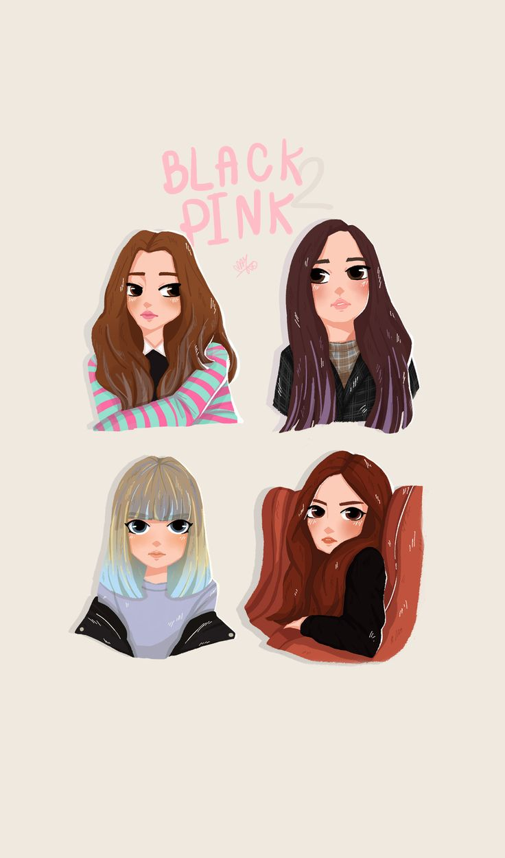 #jennie #lisa #jisoo #Rośe #blackpink #fanartblackpink #fanart #mayko