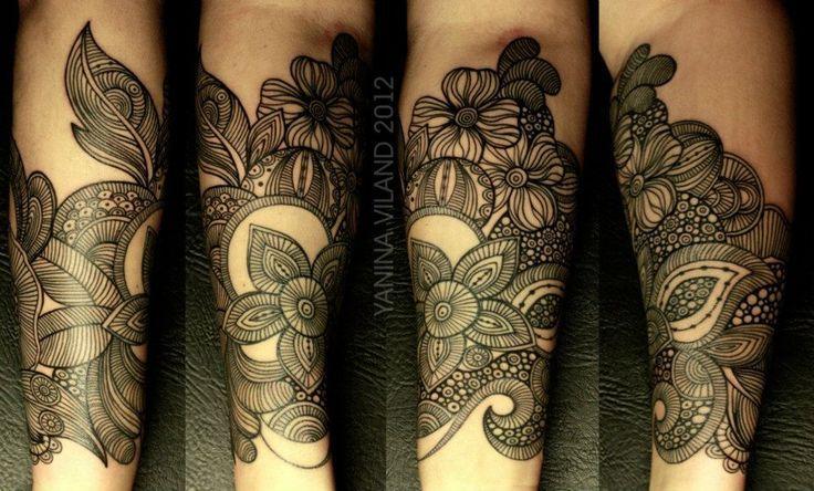 Tattoo Yanina Viland: