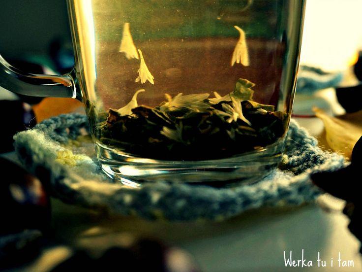 Crochet Autumn and tea