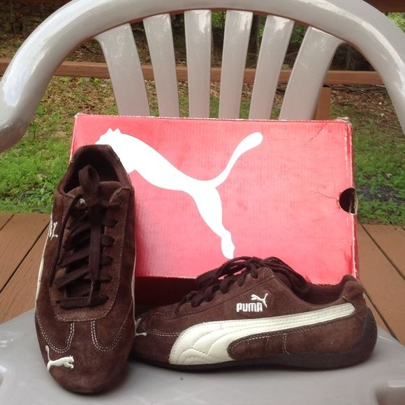 Sneakers Puma speed cat suede Java Brown sneakers worn a few times with tender loving care puma Shoes Sneakers