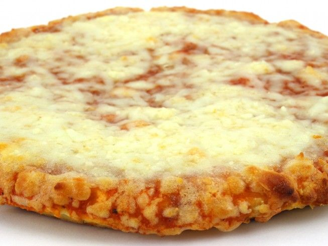A 5-star recipe for Pork Rind Pizza Crust made with cream cheese, eggs, pork…