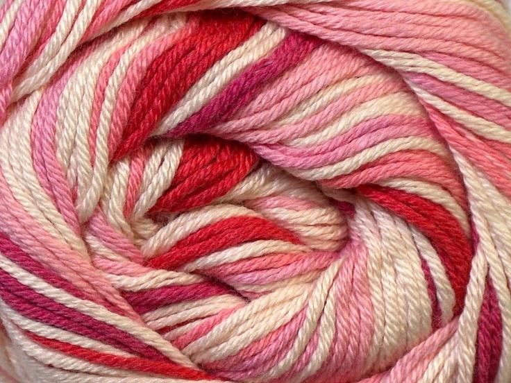Tropical Color Blanc Rouge Abat-jour rose