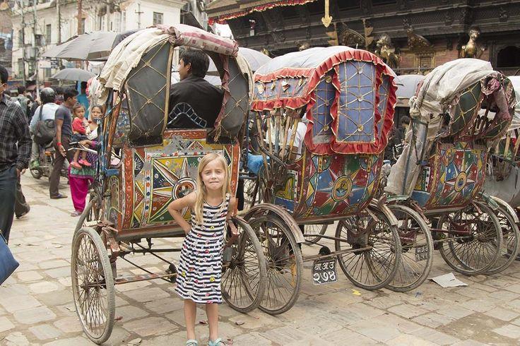 Kathmandu rickshaws