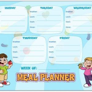 Menu Planning Tip plus Weekly Meal Plan