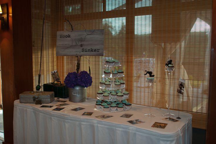 Fishing Theme Grooms Cake Table Wedding Ideas