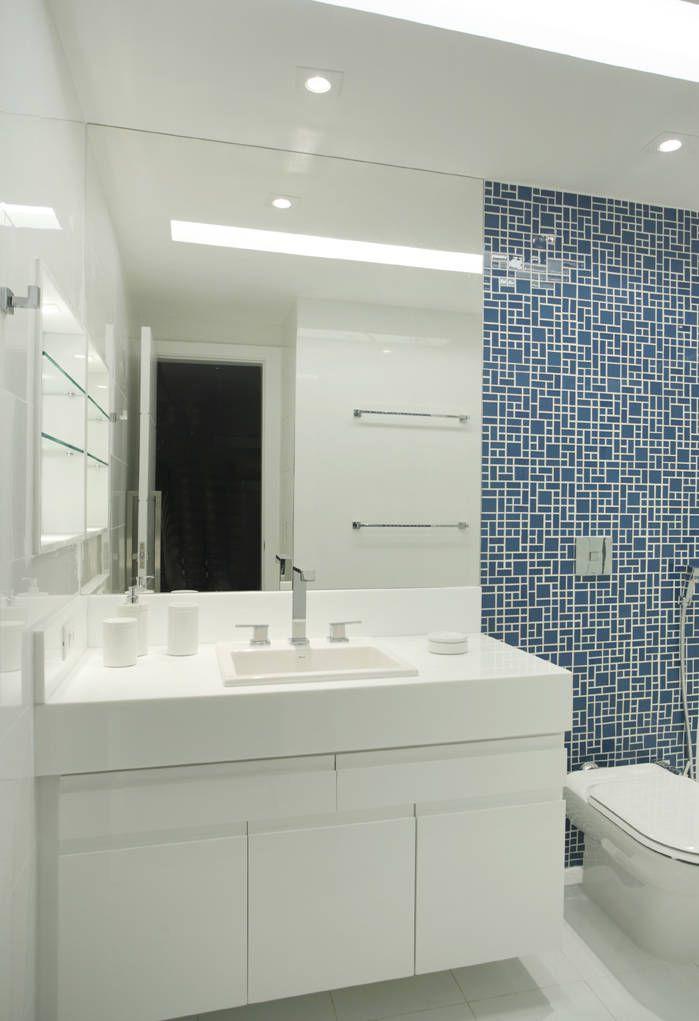 +1000 ideias sobre Banheiros Pequenos Planejados no Pinterest  Banheiros pla -> Banheiros Modernos Atuais