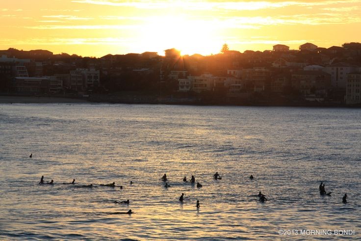 Morning surf in Bondi Beach by Morning Bondi